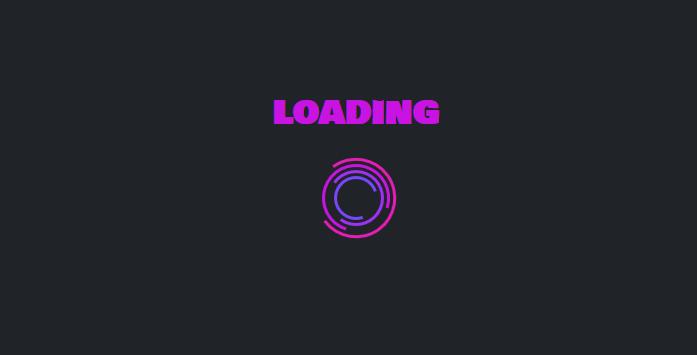 svg图标实现粉色漂亮网页加载loading特效代码
