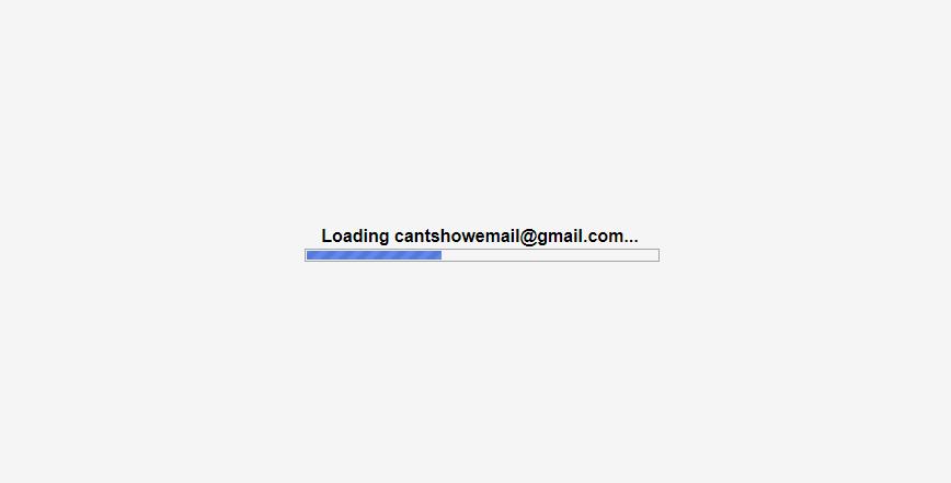 仿Google邮箱gmail加载loading动画效果代码