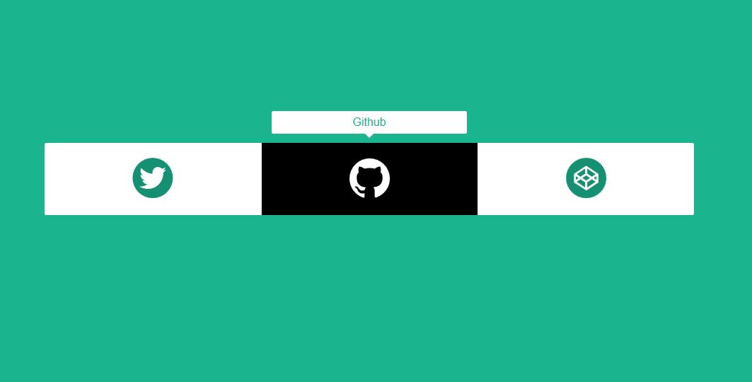 社交分享按钮提示信息tooltips插件代码下载