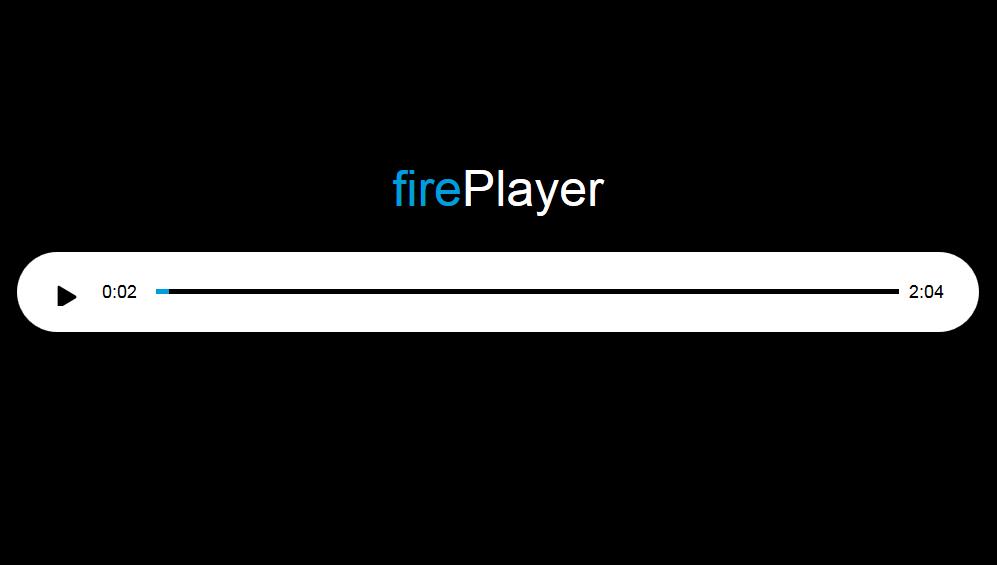 fireplayer 超简洁网页音频播放器代码下载