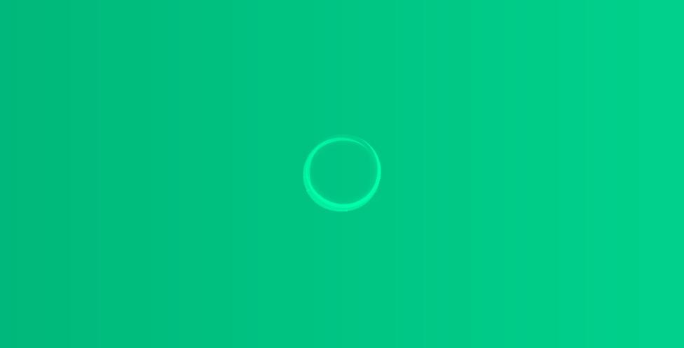 CSS3实现绿色背景圆圈旋转加载loading代码