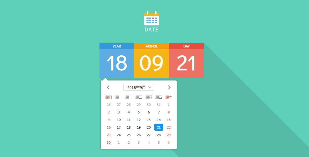 IOS风格漂亮DatePicker时间选择器插件代码下载