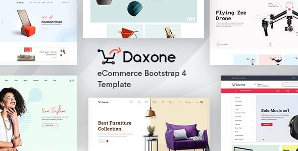 Daxone:超简洁自适应家具商城购物网站html5模板