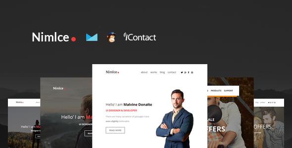 NIMLCE:创意邮件html模板