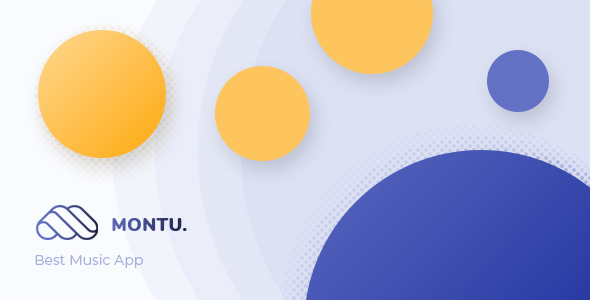 Montu:清爽音乐在线分享平台网站PSD网页模板 可用于音频mp3教程类分享型网站