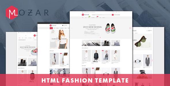 MOZAR:时尚简洁服装鞋子商城html5模板