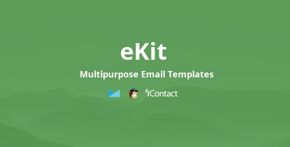 eKit Mail:绿色主题自适应邮件email网页html5模板