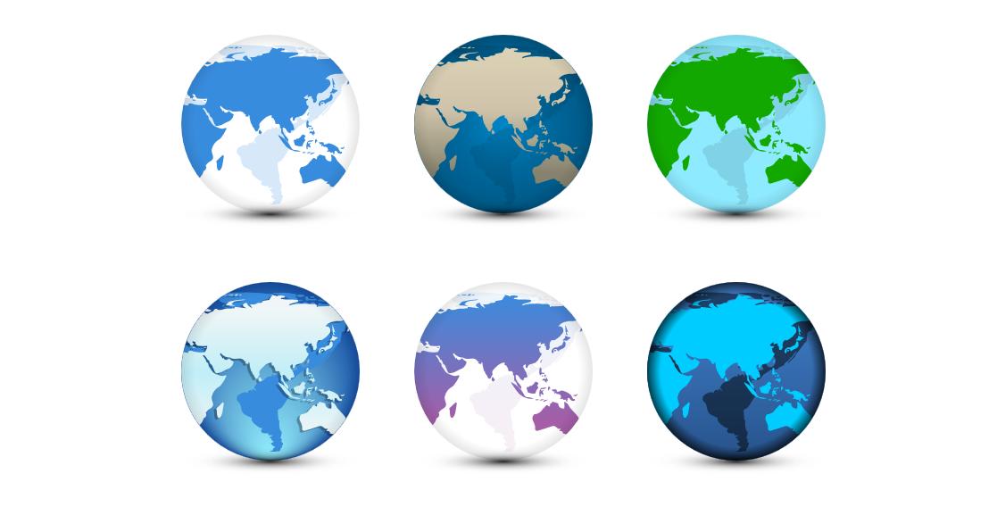 3D立体效果地球转动动画效果html代码