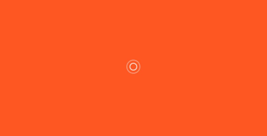 橙色背景圆圈波动加载动画html代码
