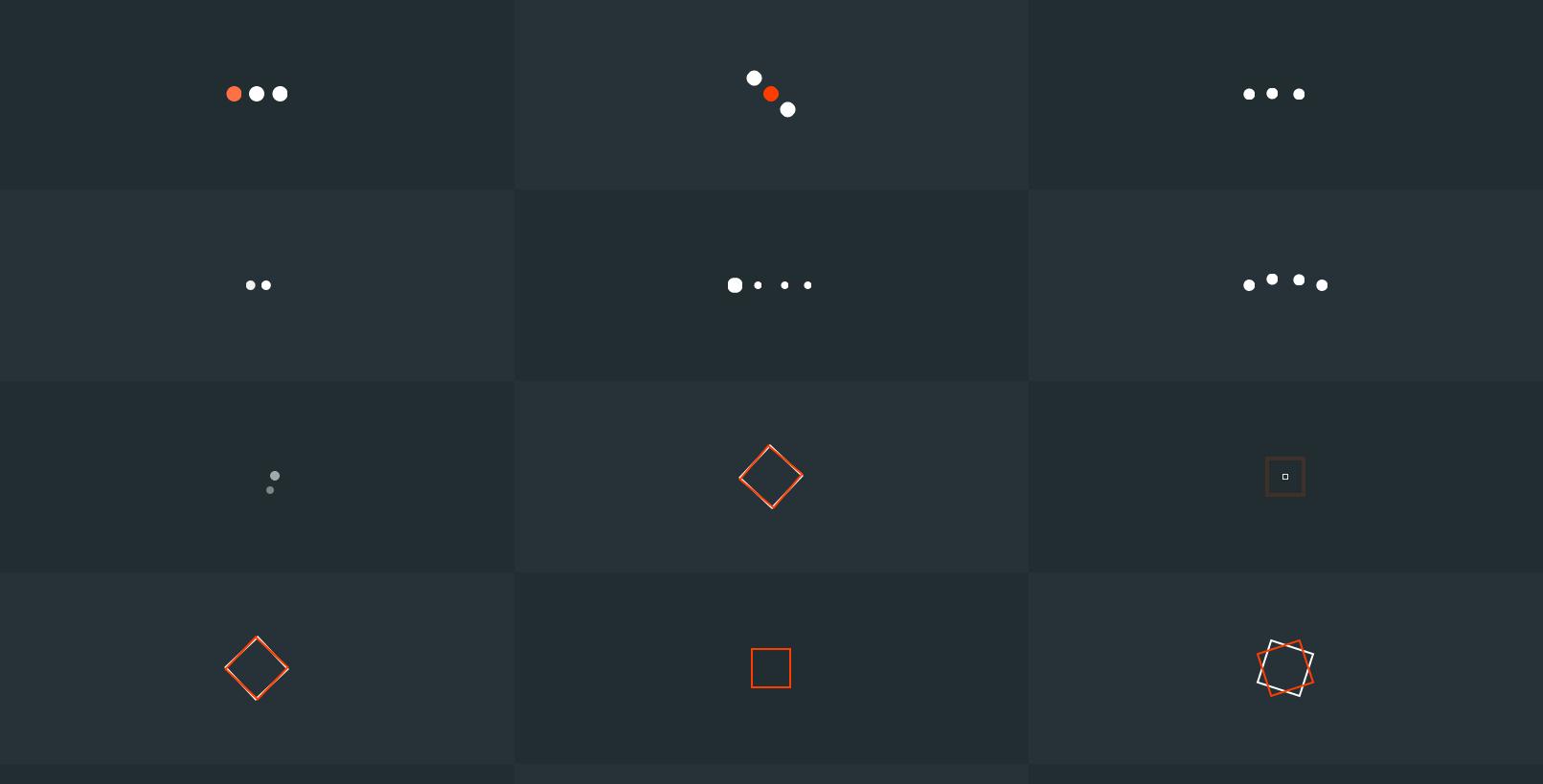 20+多种CSS3加载动画图标特效代码