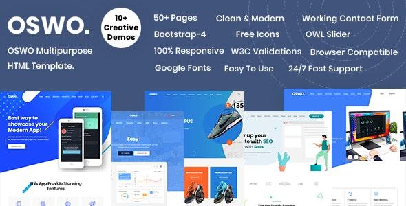 OSWO:国外多用途网站html5模板